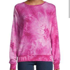 Wildfox Love Potion Pink Tie Dye Sweatshirt